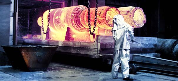 Hitzebeständige Edelstahlguss-Komponenten für den Industrieofen