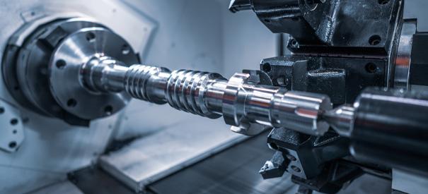Endkonturnahe Bauteile für Maschinenbau und Anlagenbau
