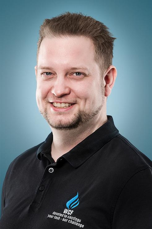 Rene Laubisch, Prokurist und Arbeitsvorbereitung